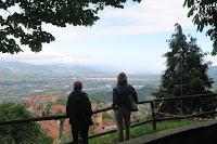 Panorama from Vezzano Ligure Alto
