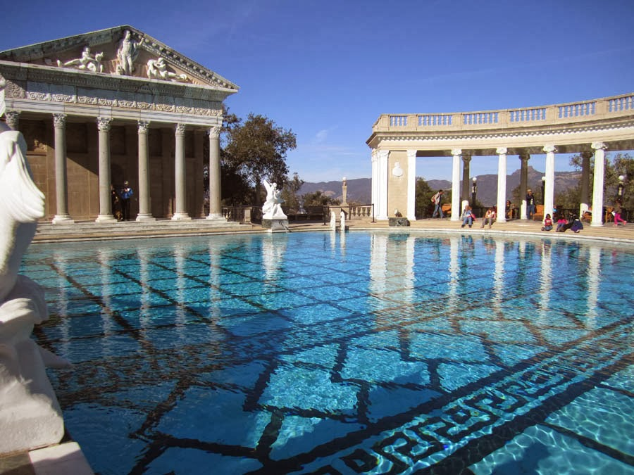 Captive wild woman the weirdness that is hearst castle - Hearst castle neptune pool swim auction ...