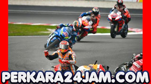 Rider Marc Marquez Mengalami Patah Lengan Kanan Saat Balapan