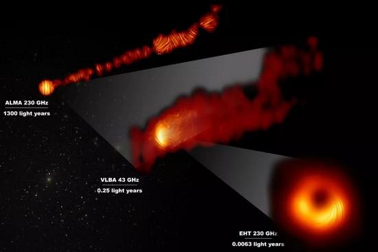 Campi magnetici ultrapotenti rivelati nella prima immagine di un buco nero