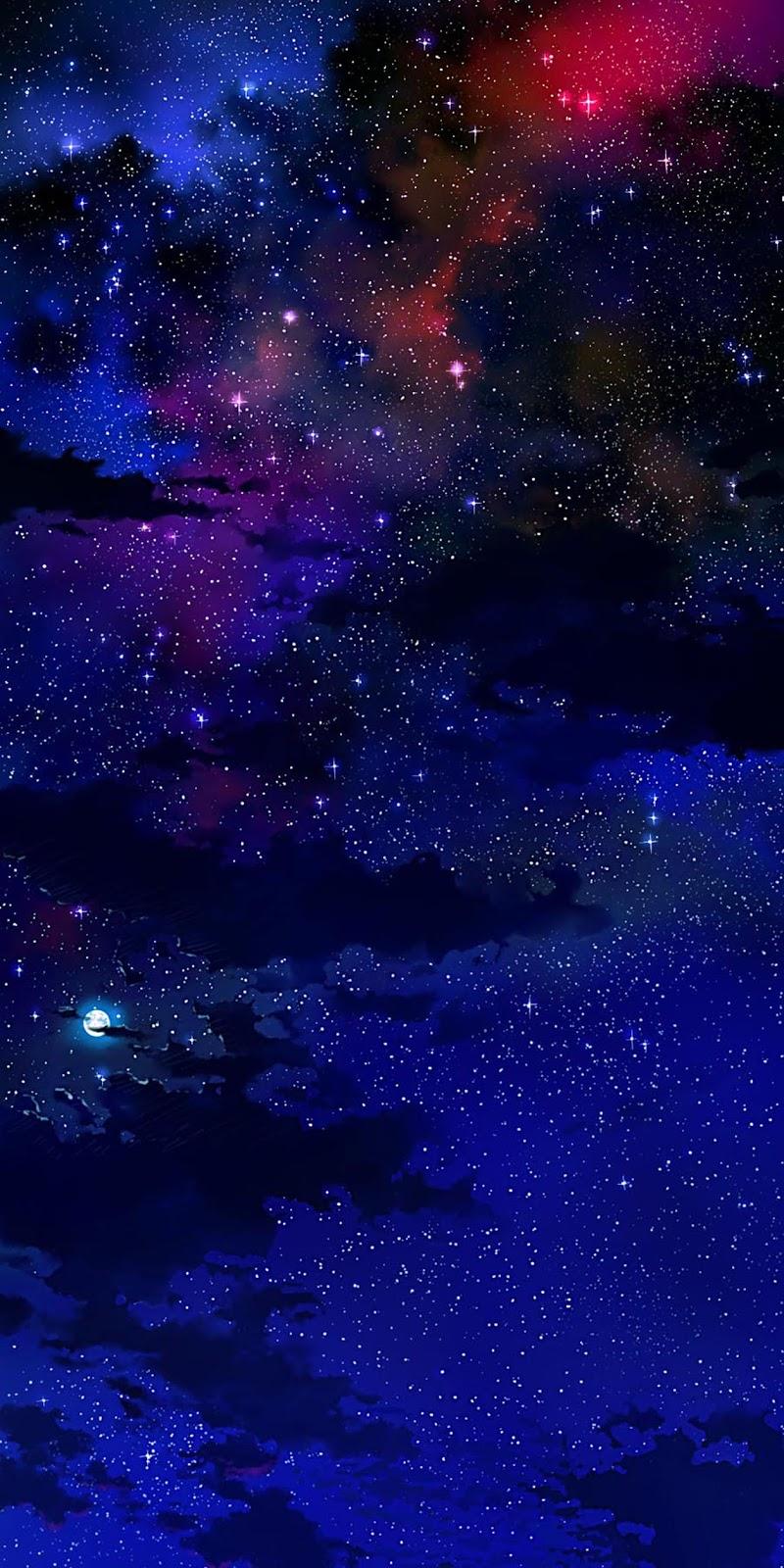 Vì sao giữa bầu trời đêm