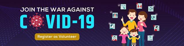 fight against corona virus register as safe volunteer