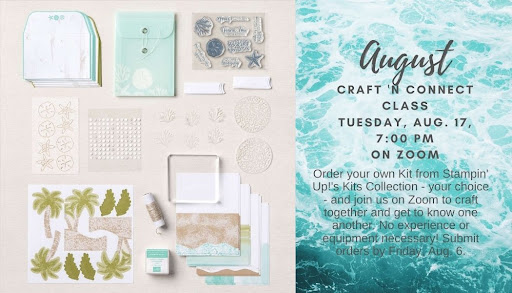 Online Craft 'n Connect Class