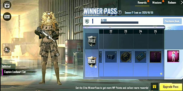 PUBG Lite Season 17 Winner Pass release date and rewards