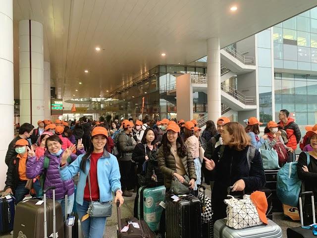 TST Tourist đón hơn 200 khách đầu tiên năm 2020 đến từ Thái Lan