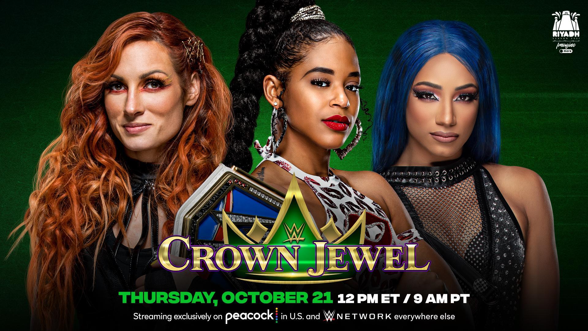 Grande luta tripla é anunciada para o WWE Crown Jewel