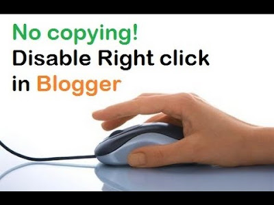 How to Disable Right Click on Blogger in 2020