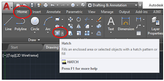 Hatch Toolbar method