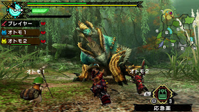 game Monster Hunter Portable 3rd HD ppsspp android