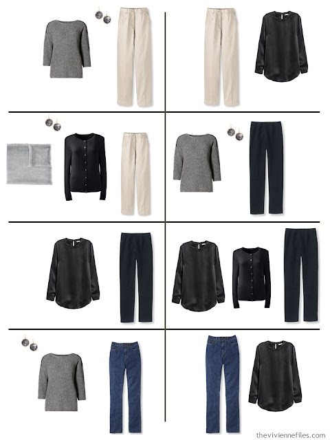 Capsule wardrobe color palette in grey and purple inspired by art: El Trovador by Claudio Bravo