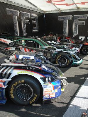 Transformers Nascar 11 - Mira estás nuevas imagenes de Transformers en el Daytona 500!