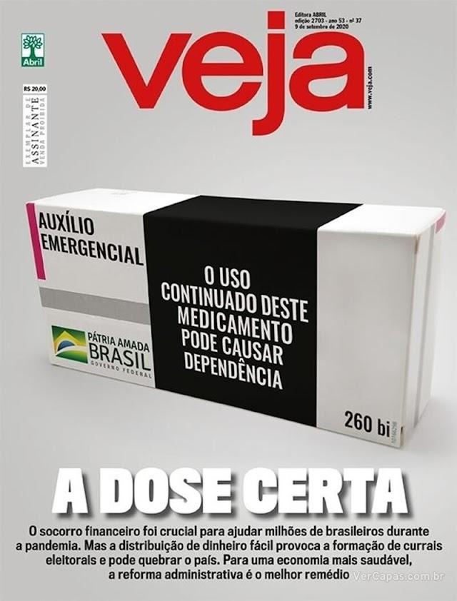 REVISTAS SEMANAIS: destaques de capa das revistas que chegam às bancas e residências dos assinantes neste final de semana. Sábado, 05/09/2020