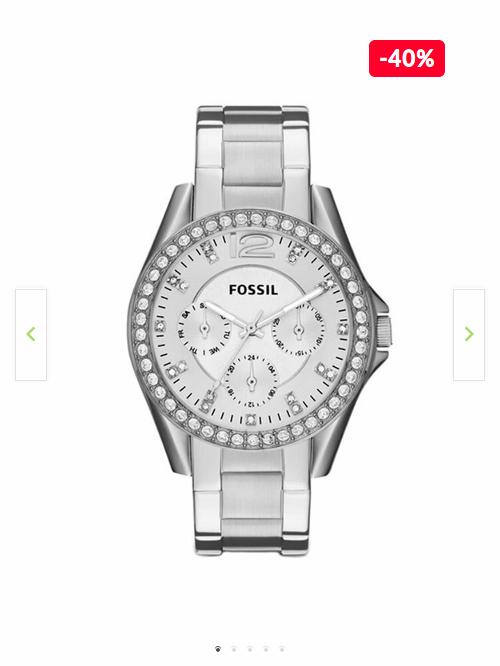 Reducere Ceas dama Fossil Riley ES3202 cu cristale