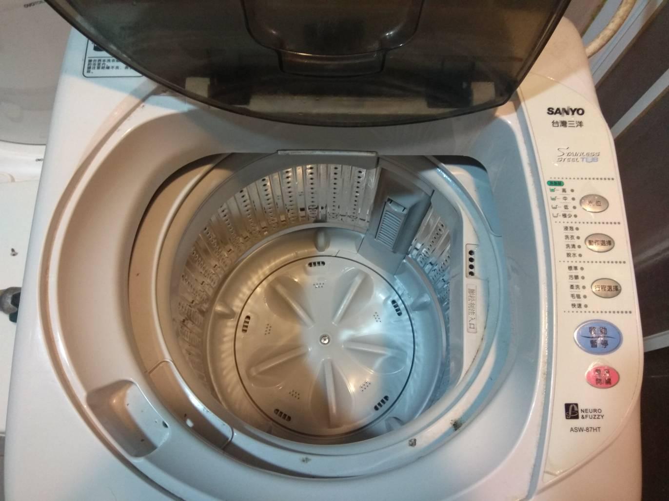 高動維修: 三洋 洗衣機 ASW-87HT 脫水不動
