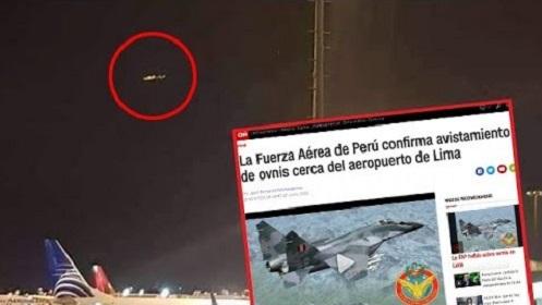 Força Aérea do Peru confirma avistamento de OVNIs no céu de Lima, de acordo com a CNN