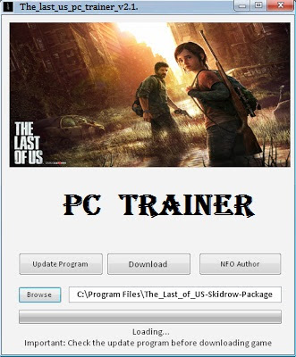 THE LAST OF US FULL PC GAME+TRAINER