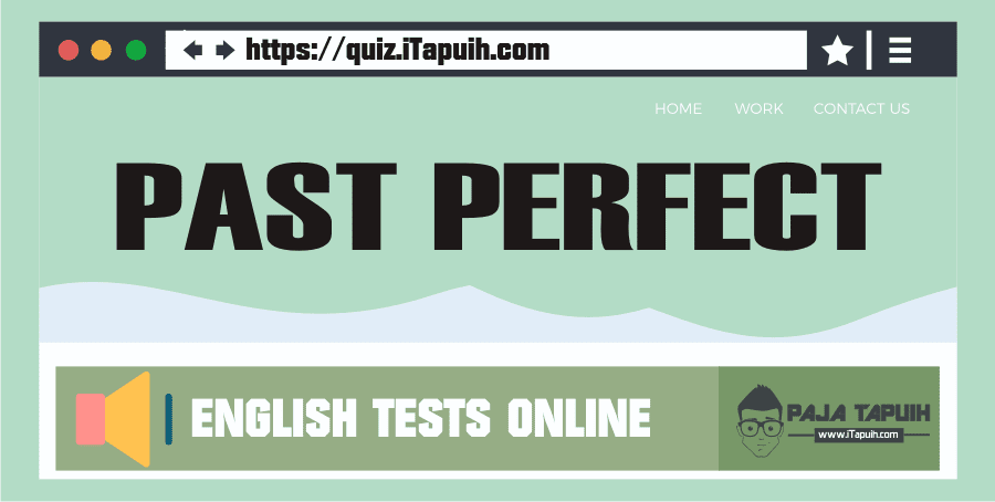 Quiz: Past Perfect Part 1
