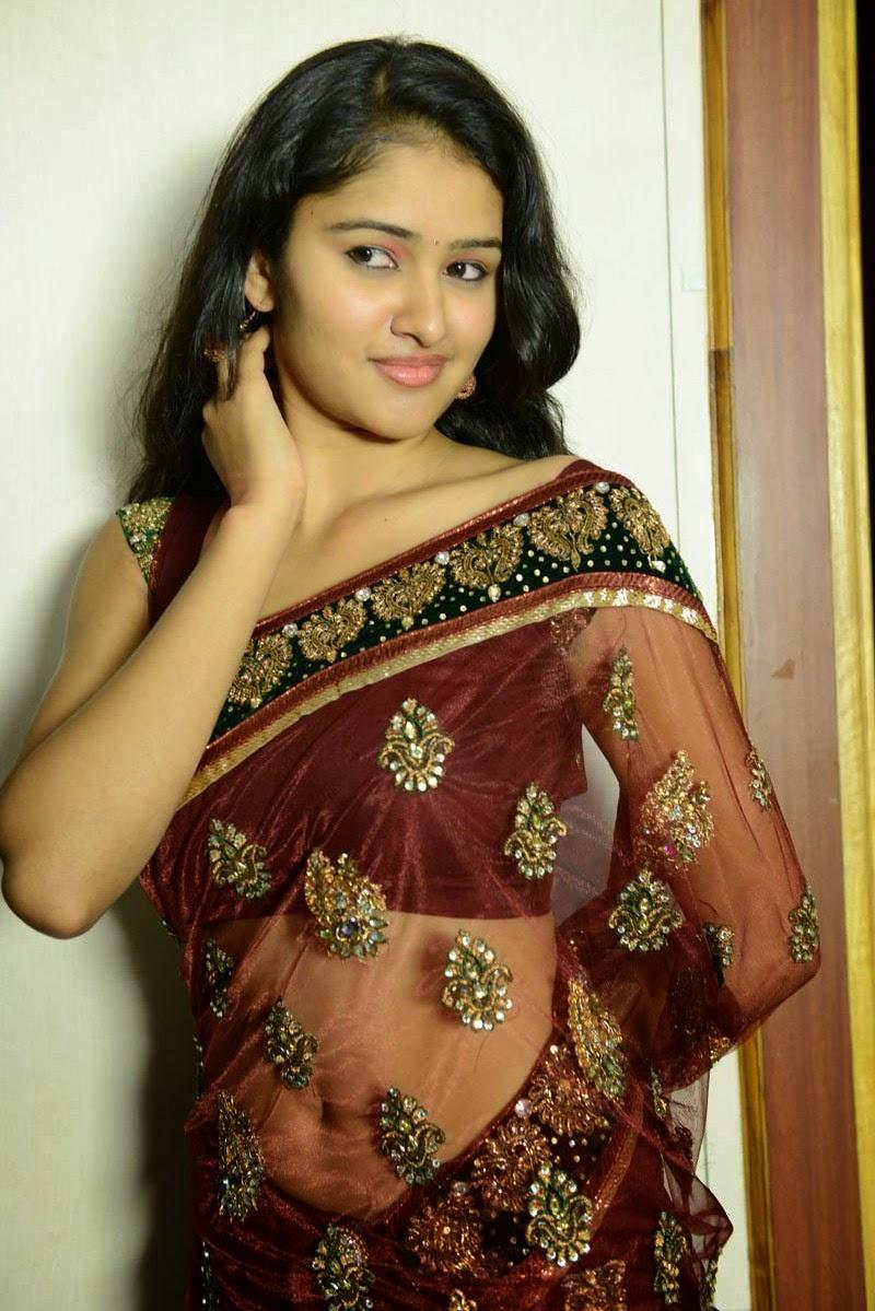Saree Navel: Kausalya Hot Navel Show Stills In Saree