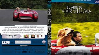 CARATULA EL ARTE DE VIVIR BAJO LA LLUVIA 2019[COVER BLU-RAY]