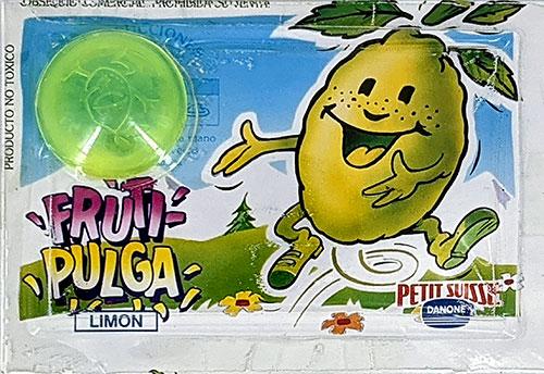 Fruti-Pulgas Danone Limón