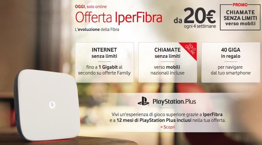 Canzone Vodafone Pubblicità Fibra a 20€, Spot Ottobre 2017