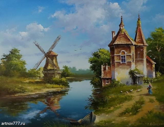 Голландский пейзаж октябрь 2021