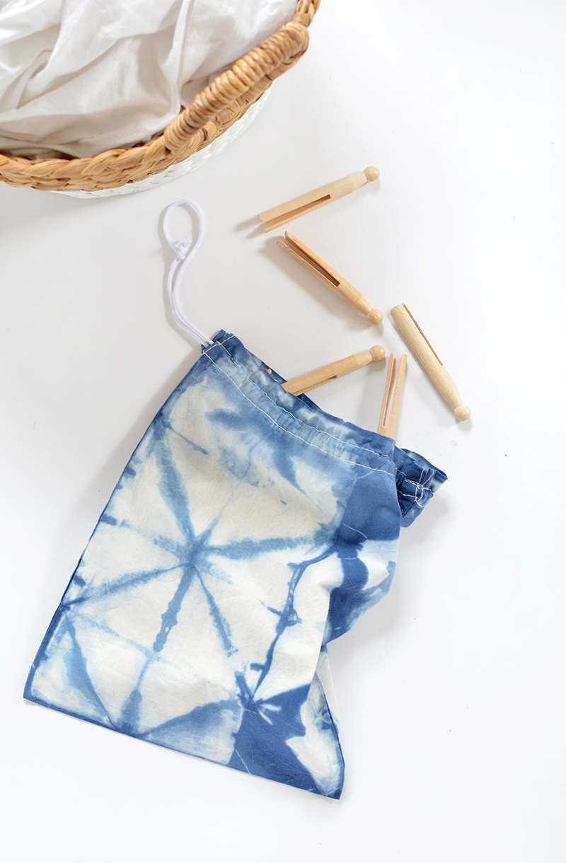 shibori bag tutorial