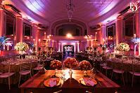 casamento com cerimônia na igreja nossa senhora das dores em porto alegre e festa e recepção no salão dos espelhos do clube do comércio na rua da praia com decoração rústico chique em tons de rosa e prata por fernanda dutra eventos