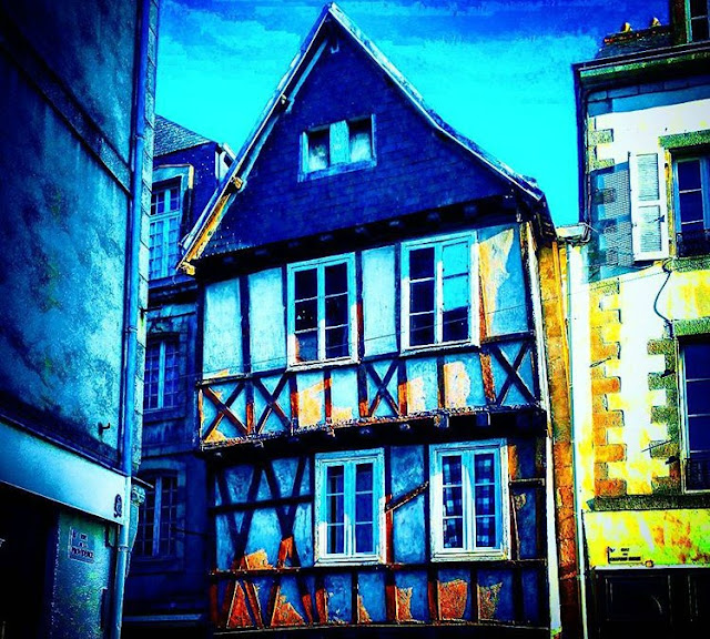 The Old but Beautiful Wooden House Quimper