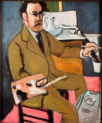 Henri Matisse - autoportrait,1918