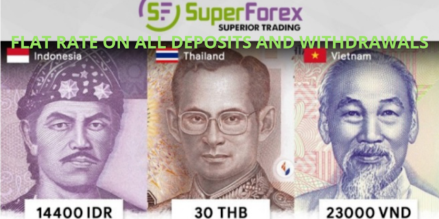 FIX RATE Deposit dan Penarikan Superforex Indonesia