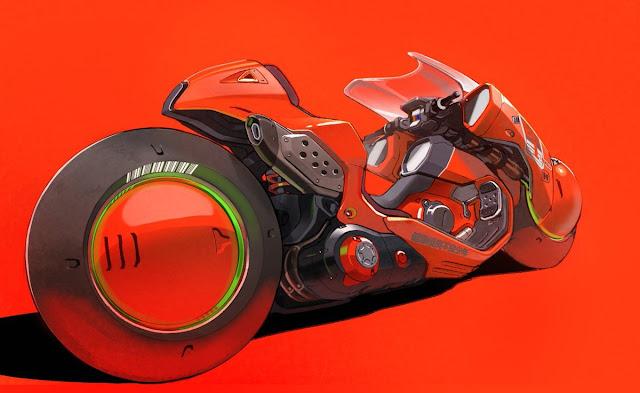 Akira - Kaneda's Power Bike