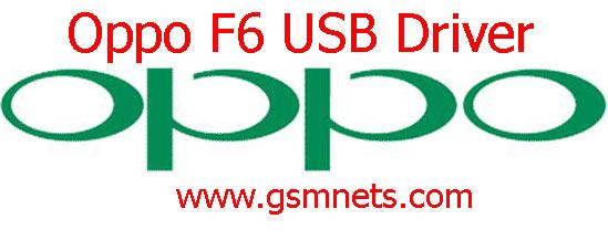 Oppo F6 USB Driver Download