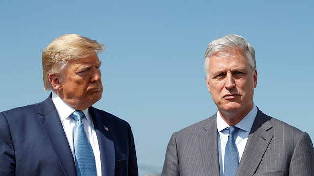US National Security Advisor Robert O'Brien, American NSA came to the fore about China aggressive action against India, Robert O'Brien said that there is a super relationship between Prime Minister Narendra Modi and President Donald Trump.
