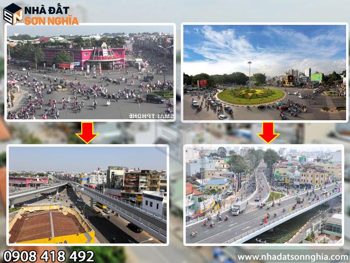 Hoàn thiện cầu vượt tại 2 nút giao thông đông đúc quận Gò Vấp
