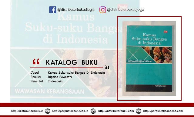 Kamus Suku-suku Bangsa Di Indonesia