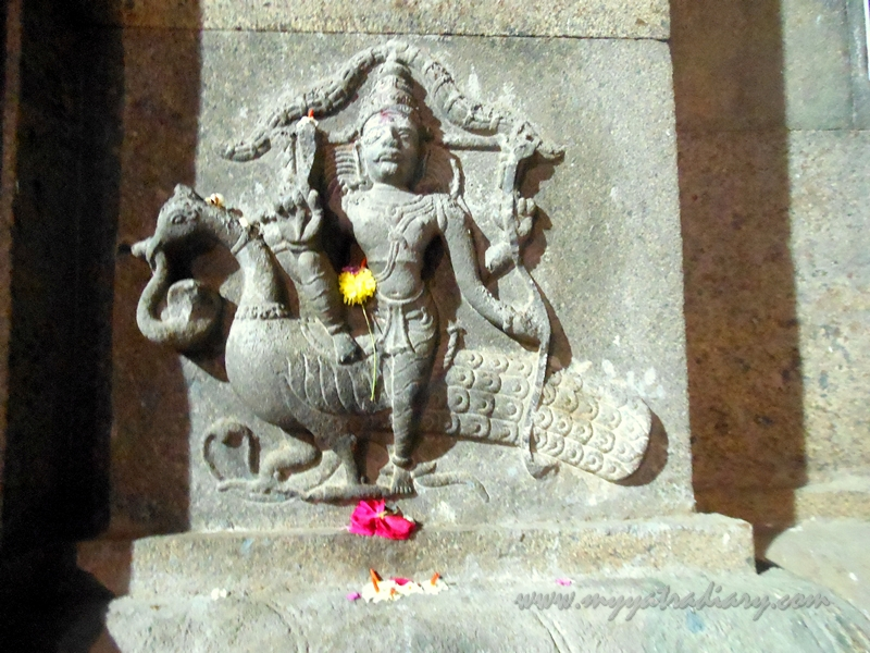 Carvings at Marundeeeswarar Temple in Chennai, Tamil Nadu