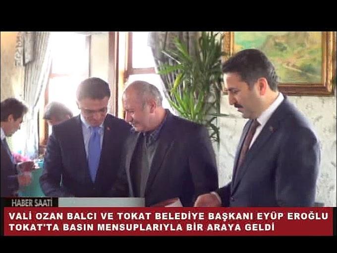 10 Ocak Çalışan Gazeteciler Günü nedeniyle Vali Dr. Ozan Balcı