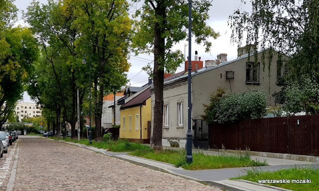 Warszawa Warsaw Targówek bruk ulica brukowana Adolfówka Adolf Gustwa Dirks