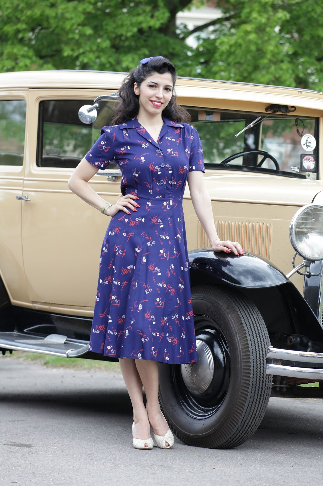 Retro Revolution Where To Find Vintage Clothing In: The Adventures Of Miss Bamboo: Reproduction Vintage 1940's