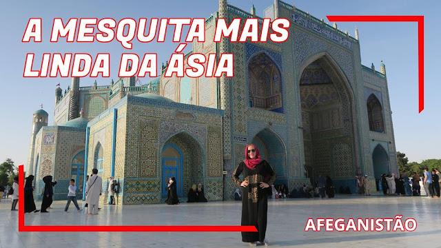 Mesquita Azul de Mazar-e Sharif