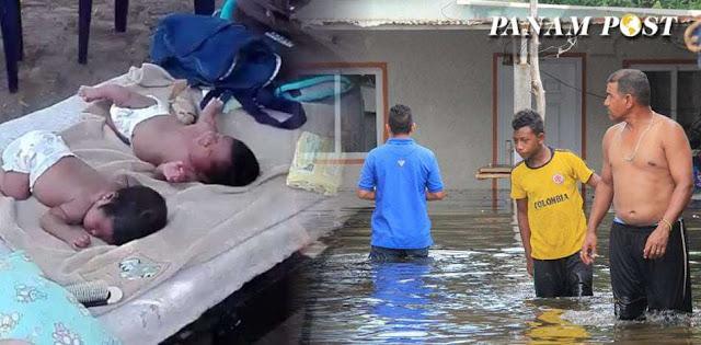 Venezuela en emergencia: siete estados inundados y el resto con apagones