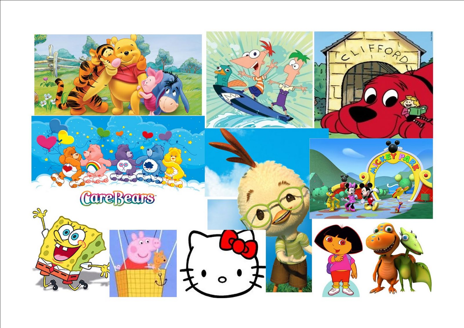My Mood Board For Children As You Can See The All Famous