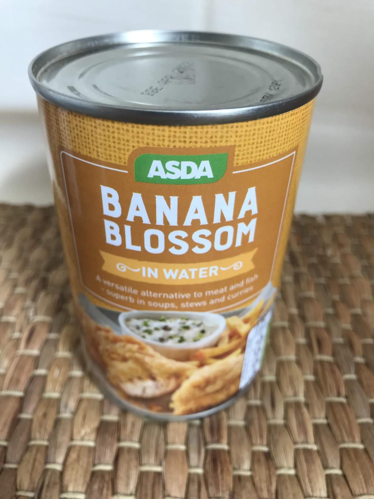 Asda Tinned Banana Blossom Review
