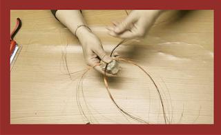 Como hacer un árbol de alambre
