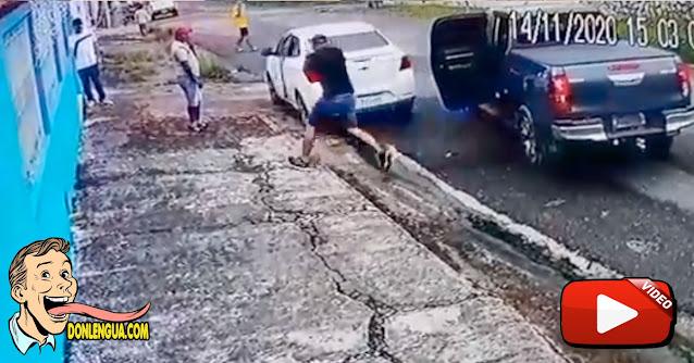 Video muestra el momento en el que militares capturaron en Brasil a Toñito