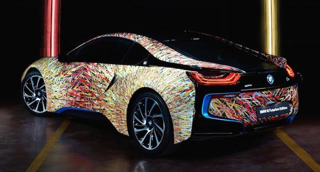 BMW、イタリア進出50周年を祝う「i8 フューチャリズム・エディション」を公開。