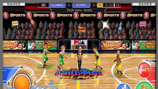 Game Basket Android Basketball Slam