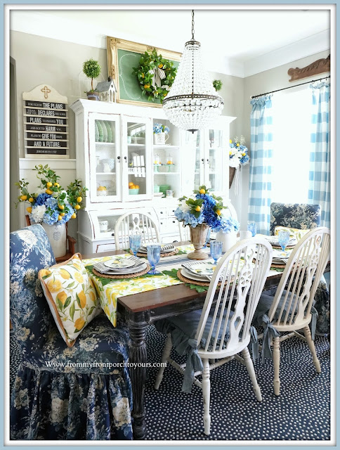 French Farmhouse-Dining Room-From My Front Porch To Yours