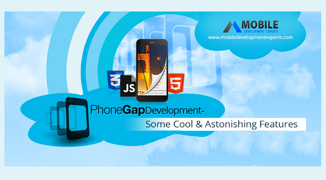 PhoneGap-Development-Some-Cool-And-Astonishing-Features  #Infographic